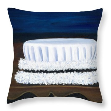 Symbol Of A Proud Profession Iv Throw Pillow by Marlyn Boyd