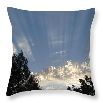 Symphonic Photography Throw Pillow by Tina Marie