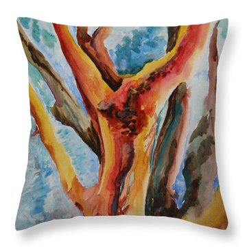 Symphony Of Branches Throw Pillow