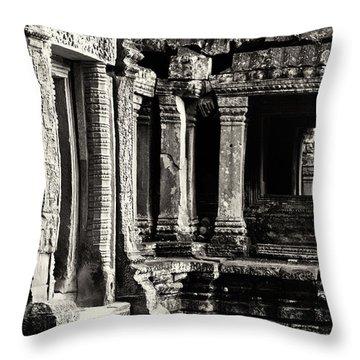 Ta Prohm 03 Throw Pillow