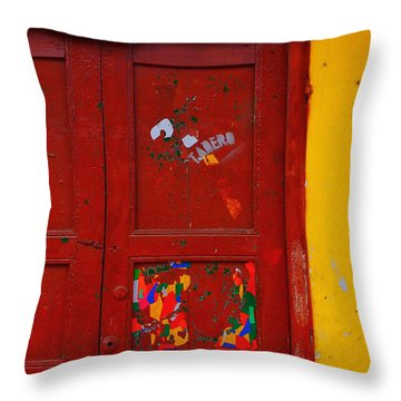 Tadero Throw Pillow by Skip Hunt