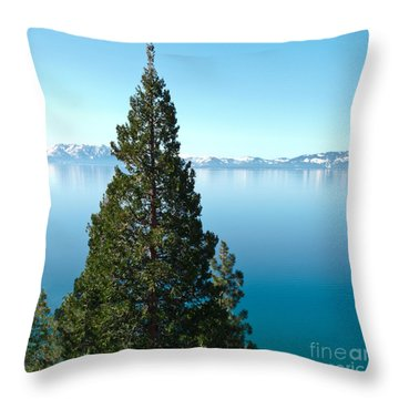 Tahoe Tranquility Throw Pillow