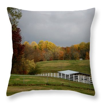 Throw Pillow featuring the photograph Take A Deep Breath by EricaMaxine  Price