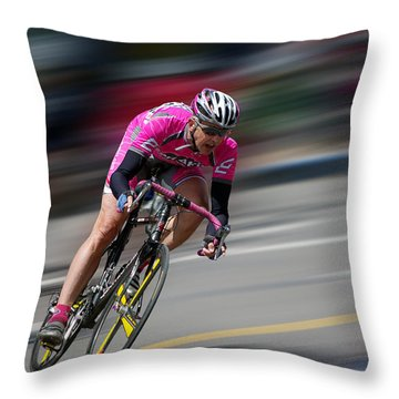 Throw Pillow featuring the photograph Take It by Vicki Pelham