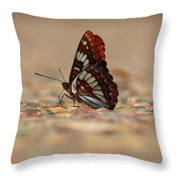 Taking A Breather Throw Pillow by Patrick Witz