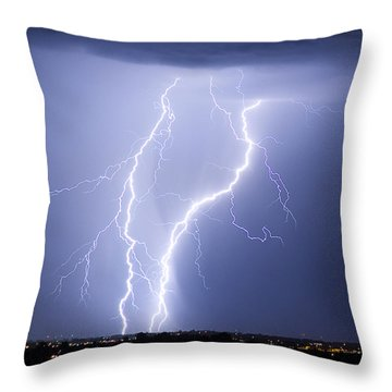 Taking It To The Street Throw Pillow by James BO  Insogna