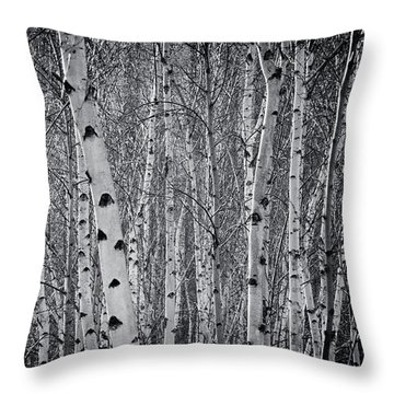 Tate Modern Trees Throw Pillow
