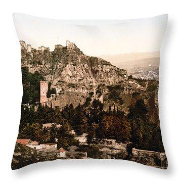 Tbilisi  Georgia - Botanical Gardens Throw Pillow by International  Images