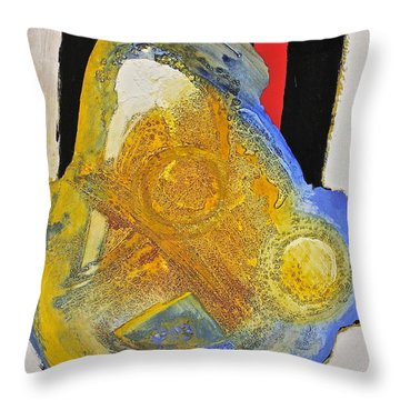 Mitochogdrion Countdown To Apoptosis Or Tect Sure Throw Pillow