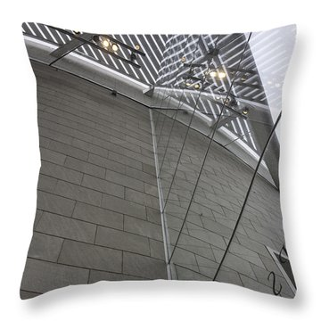 Telfair Glass And Louver Details Throw Pillow by Lynn Palmer