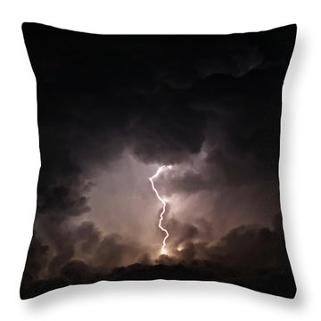Tempest Throw Pillow by Billie-Jo Miller