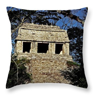 Temple Of The Count ... Throw Pillow by Juergen Weiss