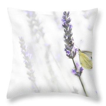 Tempting Flavor  Throw Pillow by Hannes Cmarits