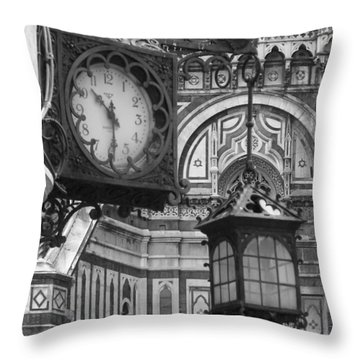 Throw Pillow featuring the photograph Ten Thirty by Ramona Johnston