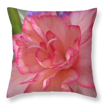 Throw Pillow featuring the photograph Tender Photography by Tina Marie