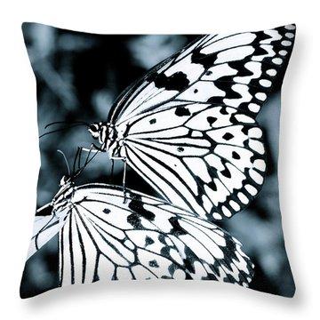 Tender Touch Throw Pillow by Jocelyn Kahawai