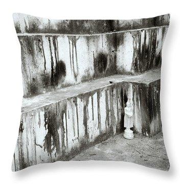 Texture Throw Pillow by Shaun Higson
