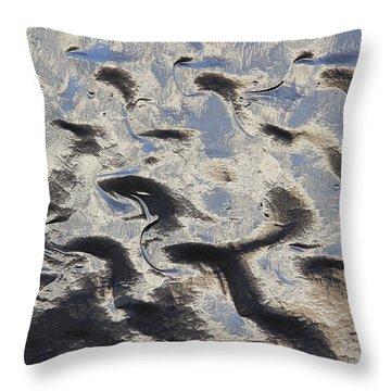 Textured Glass Throw Pillow by Mike McGlothlen