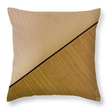 Textures. Beige. Throw Pillow by Ausra Huntington nee Paulauskaite