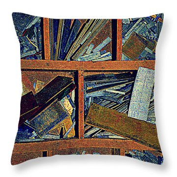 textures III Throw Pillow