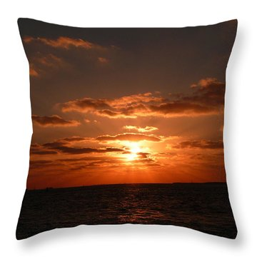 Throw Pillow featuring the photograph Thank You Lord by Jo Sheehan
