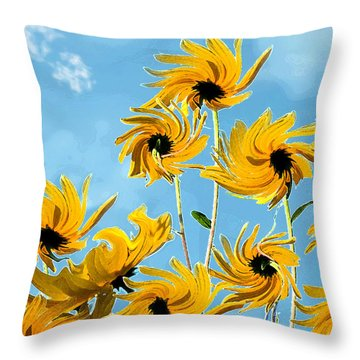 Throw Pillow featuring the photograph Thank You Vincent by Deborah Smith