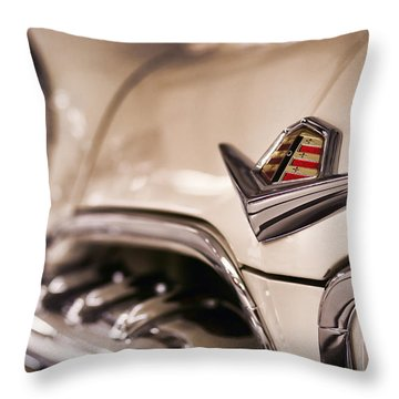 Throw Pillow featuring the photograph The 1955 Dodge La Femme by Gordon Dean II