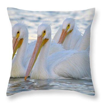 The 3 Amigos Throw Pillow