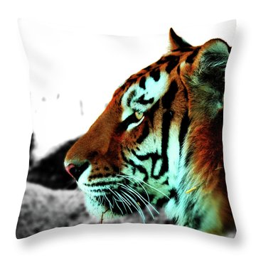 The Alpha Throw Pillow
