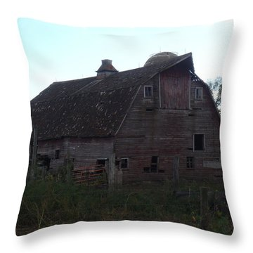 The Barn IIi Throw Pillow by Bonfire Photography