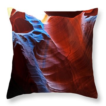 Throw Pillow featuring the photograph The Bear 2 by Bob and Nancy Kendrick