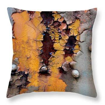 The Beauty Of Aging Throw Pillow by The Art With A Heart By Charlotte Phillips