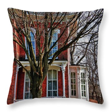 Throw Pillow featuring the photograph The Better Half by Rachel Cohen