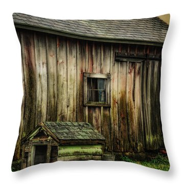 Throw Pillow featuring the photograph The Big And The Small by Mary Timman