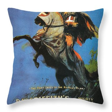 The Birth Of A Nation Throw Pillow by Georgia Fowler