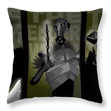 The Brothers Throw Pillow by Lisa Leeman