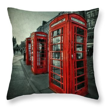 The Call Of Yesteryear Throw Pillow by Evelina Kremsdorf