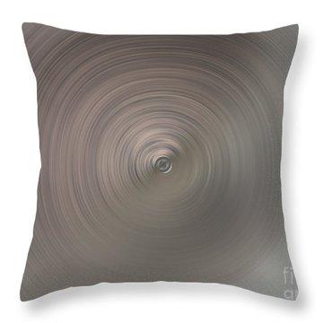 The Center Of Tornado Throw Pillow by Ausra Huntington nee Paulauskaite
