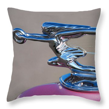 Throw Pillow featuring the photograph The Chase Continues... by John Schneider