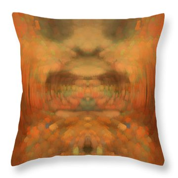 The Coronation Throw Pillow by Christopher Gaston
