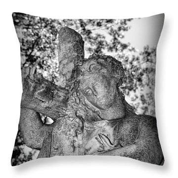 The Cross I Bear Throw Pillow by Paul Ward