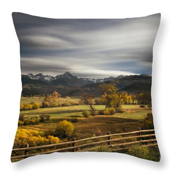 The Dallas Divide Throw Pillow