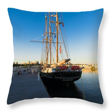 The Denis Sullivan Throw Pillow