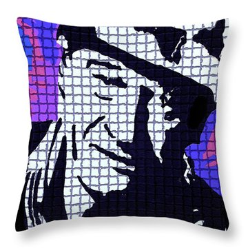 The Duke Throw Pillow by Robert Margetts