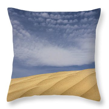 The Dunes 2 Throw Pillow by Mike McGlothlen