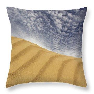 The Dunes Throw Pillow by Mike McGlothlen