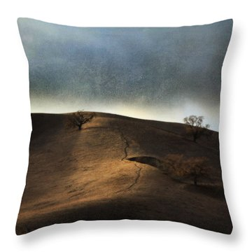The Earth Moved When You Loved Me Throw Pillow by Laurie Search