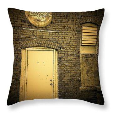 The Entrance Throw Pillow