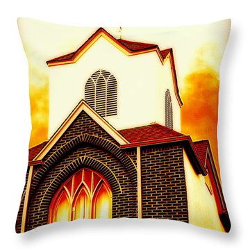 The Forgiven  Throw Pillow