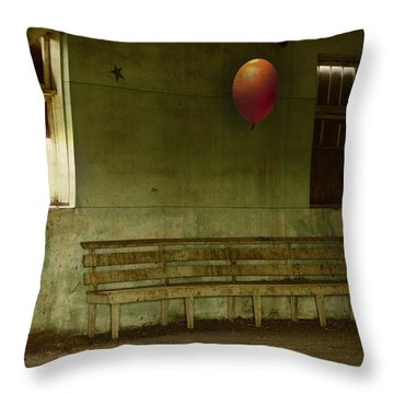 The Forgotten Party  Throw Pillow by Jerry Cordeiro